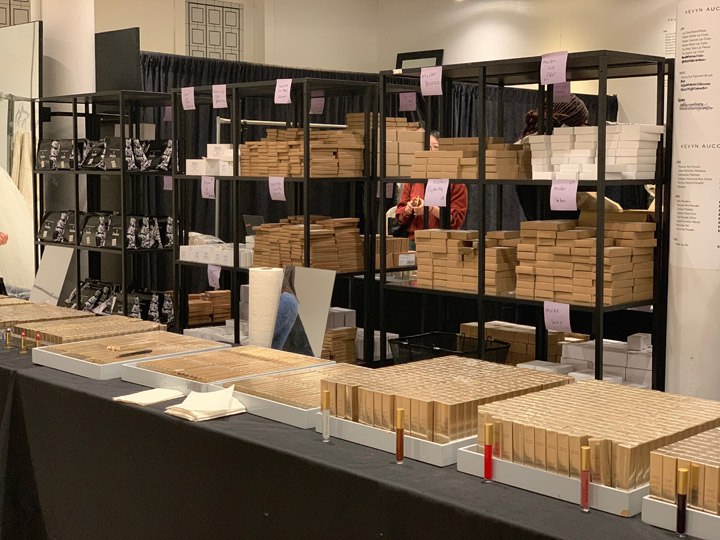 Kevyn Aucoin Sample Sale In Images