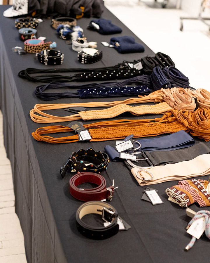 Maje Sample Sale in Images Accessories
