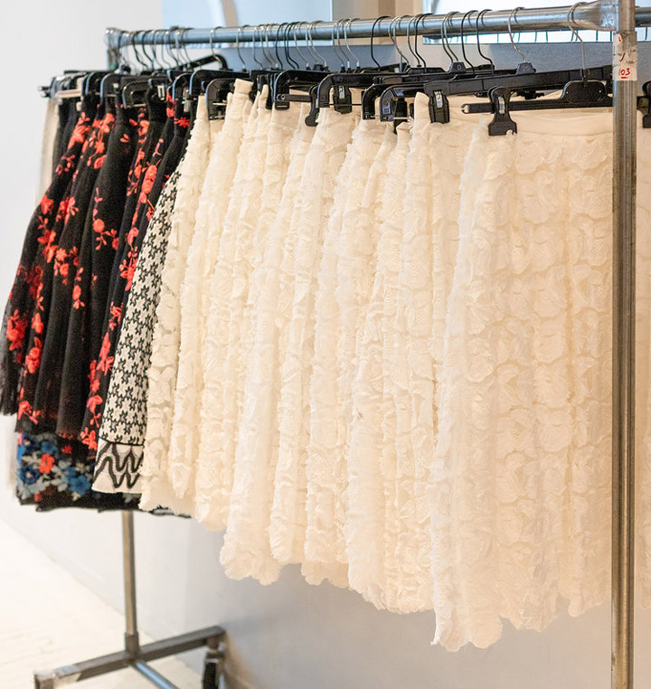 Maje Sample Sale in Images Skirts