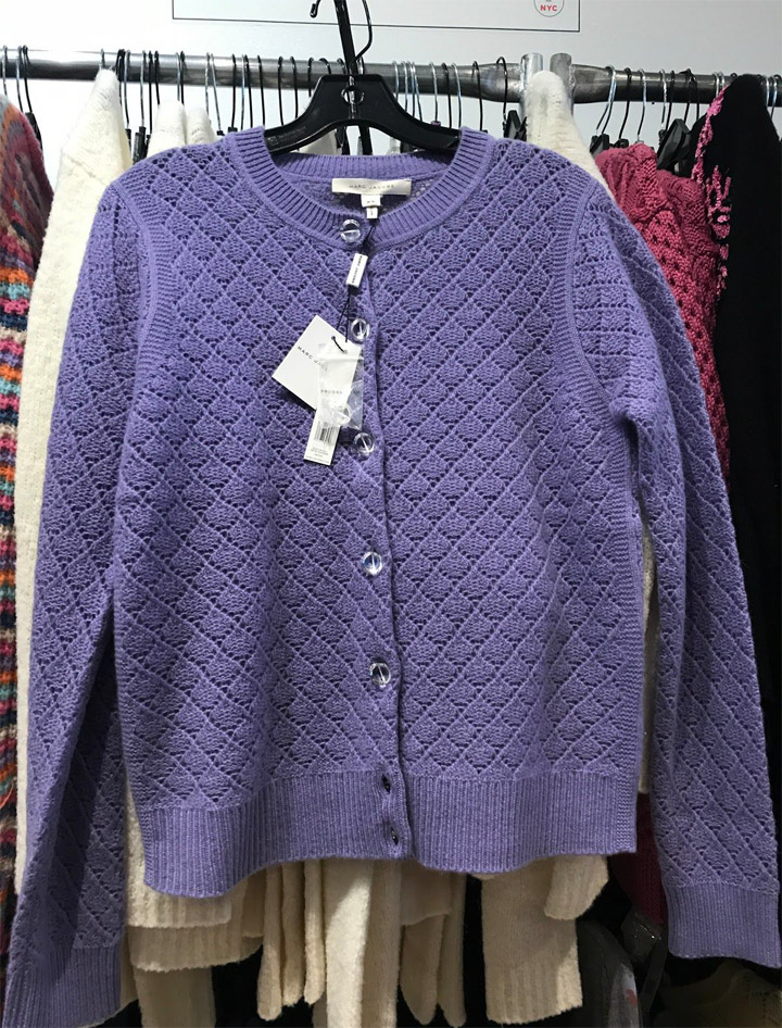 Marc Jacobs Sample Sale Sweater