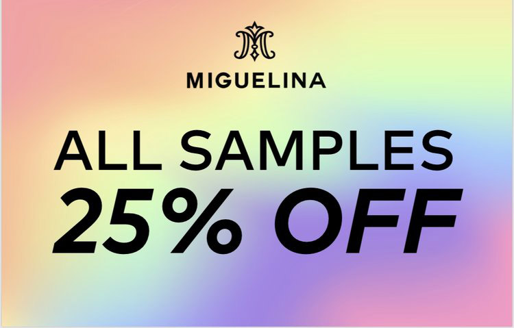 Miguelina Sample Sale in Images Prices