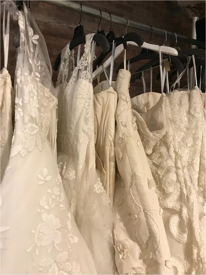 Oscar de la Renta Sample Sale Bridalwear