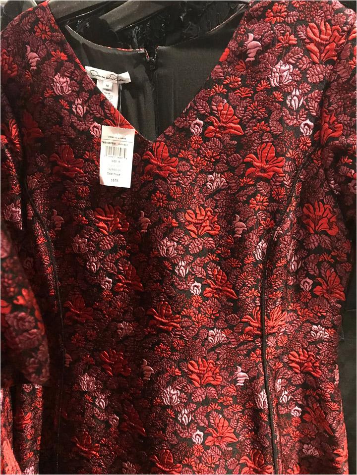Oscar de la Renta Sample Sale Eveningwear