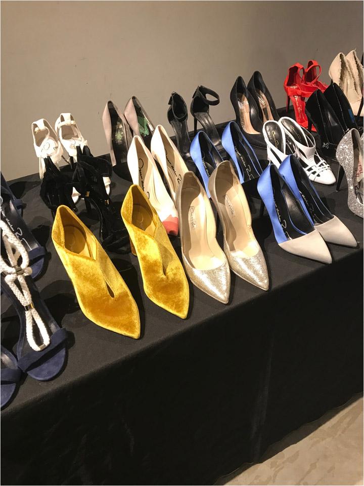 Oscar de la Renta Sample Sale Footwear