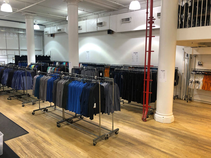 Pics from Inside the Rhone Sample Sale