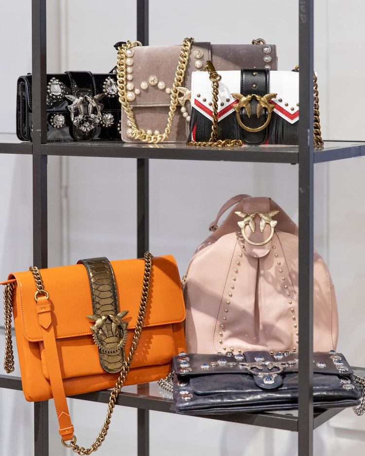 Pinko Sample Sale in Images Handbags
