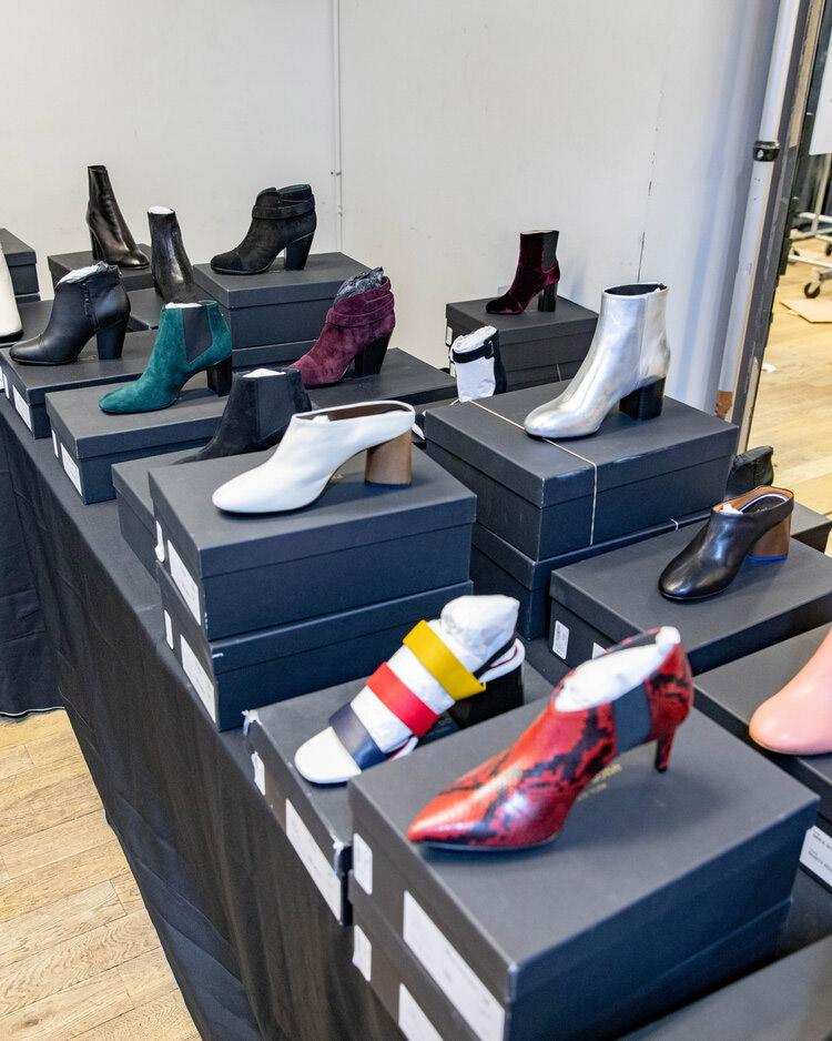 Rag & Bone Sample Sale Footwear