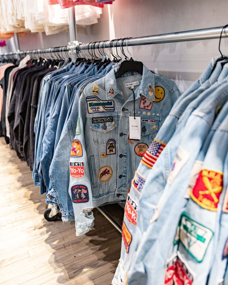 RE/DONE Sample Sale in Images