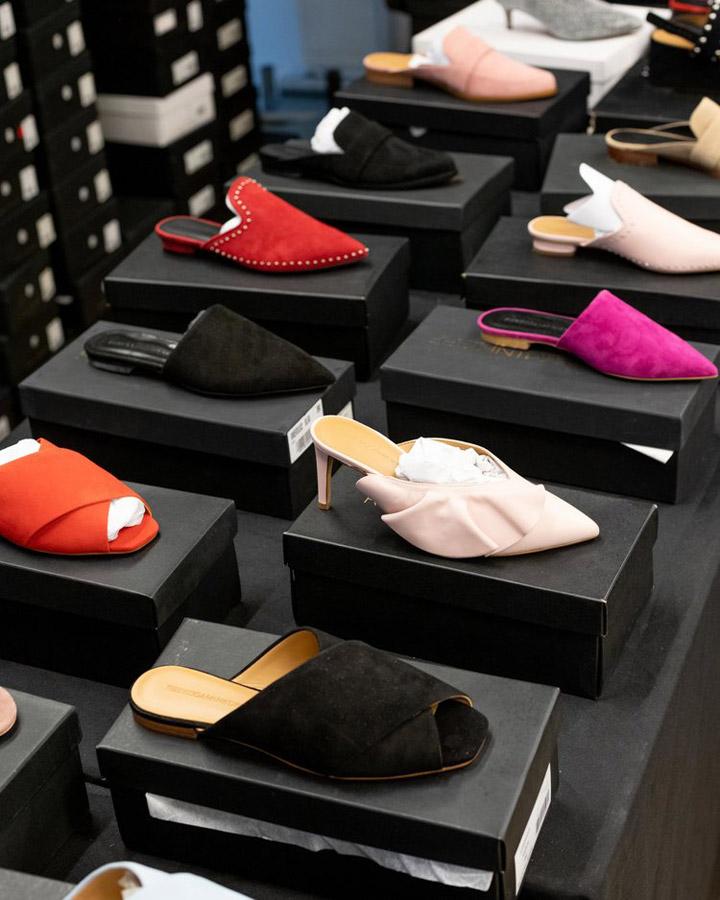 Rebecca Minkoff Sample Sale Footwear