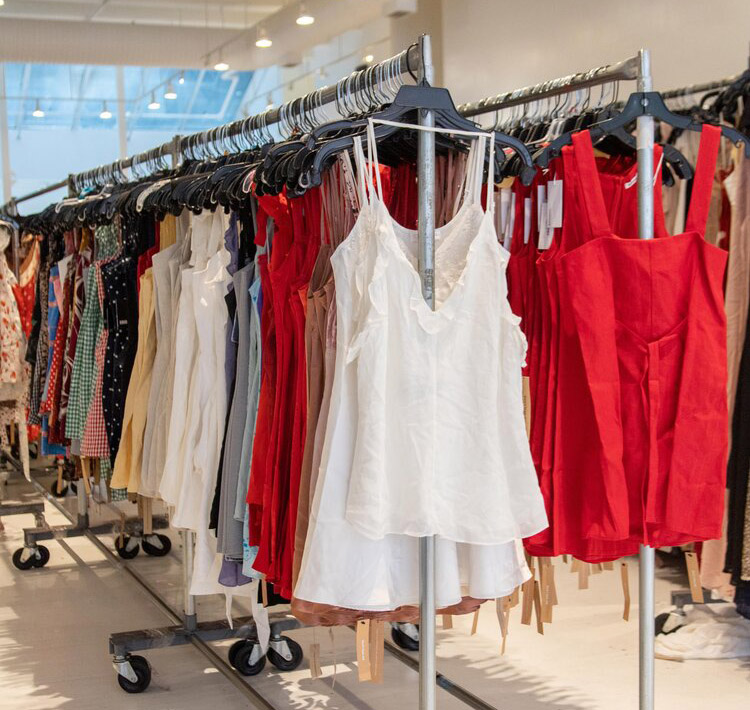Reformation Sample Sale in Images