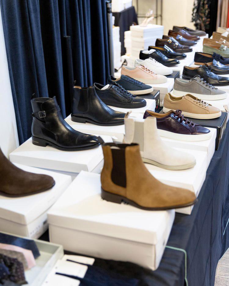 Reiss London Sample Sale in Images Men's Footwear