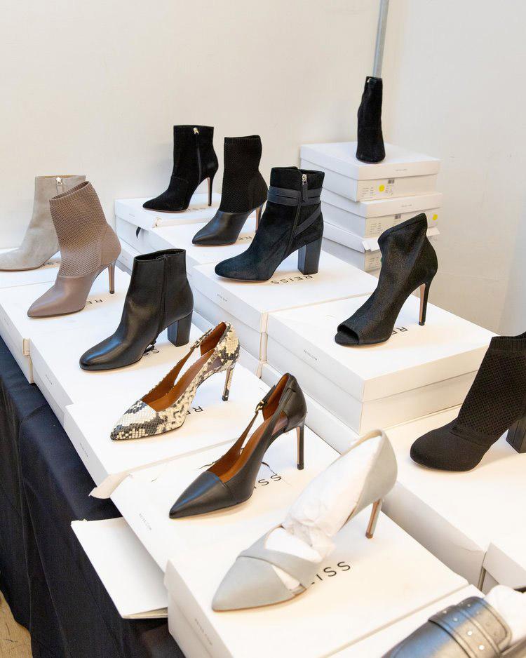 Reiss London Sample Sale in Images Women's Footwear