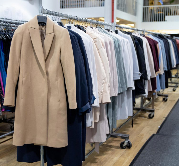 Reiss London Sample Sale in Images