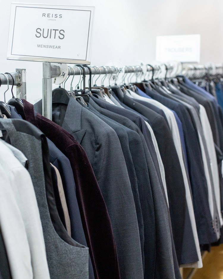 Reiss London Sample Sale in Images Men's Suits