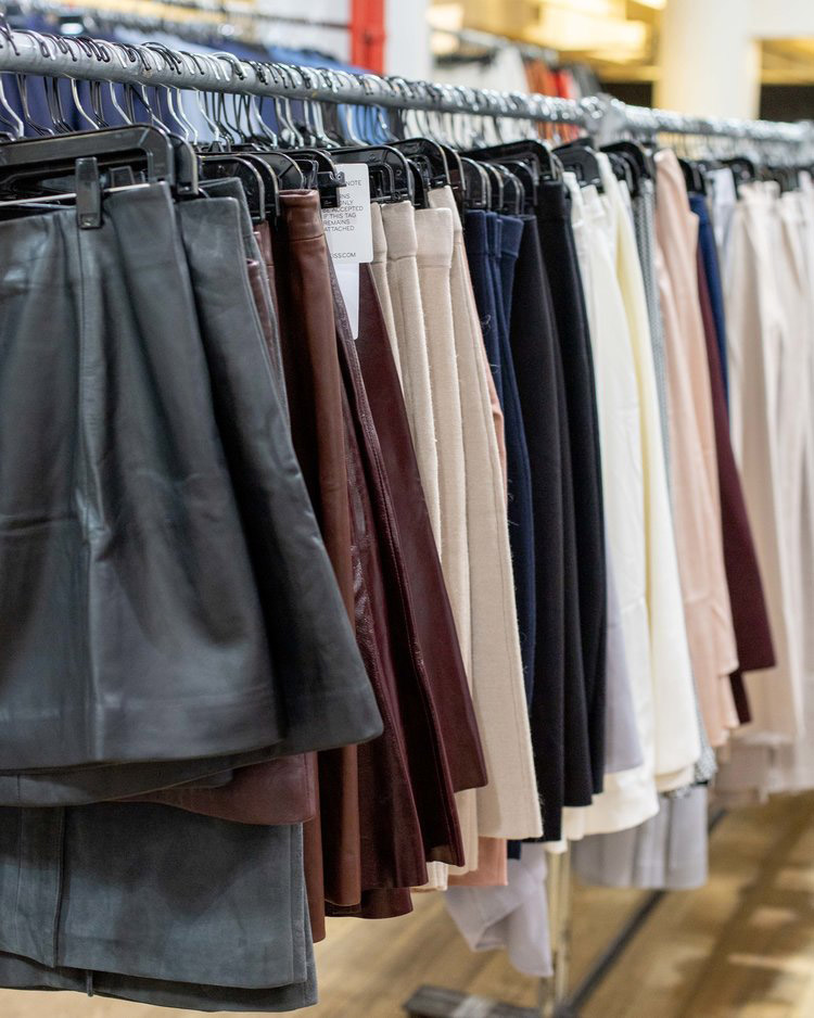 Reiss London Sample Sale in Images Skirts