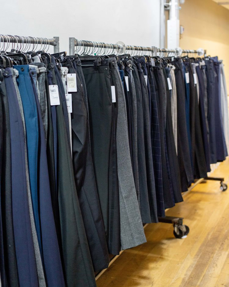 Reiss London Sample Sale in Images Trousers