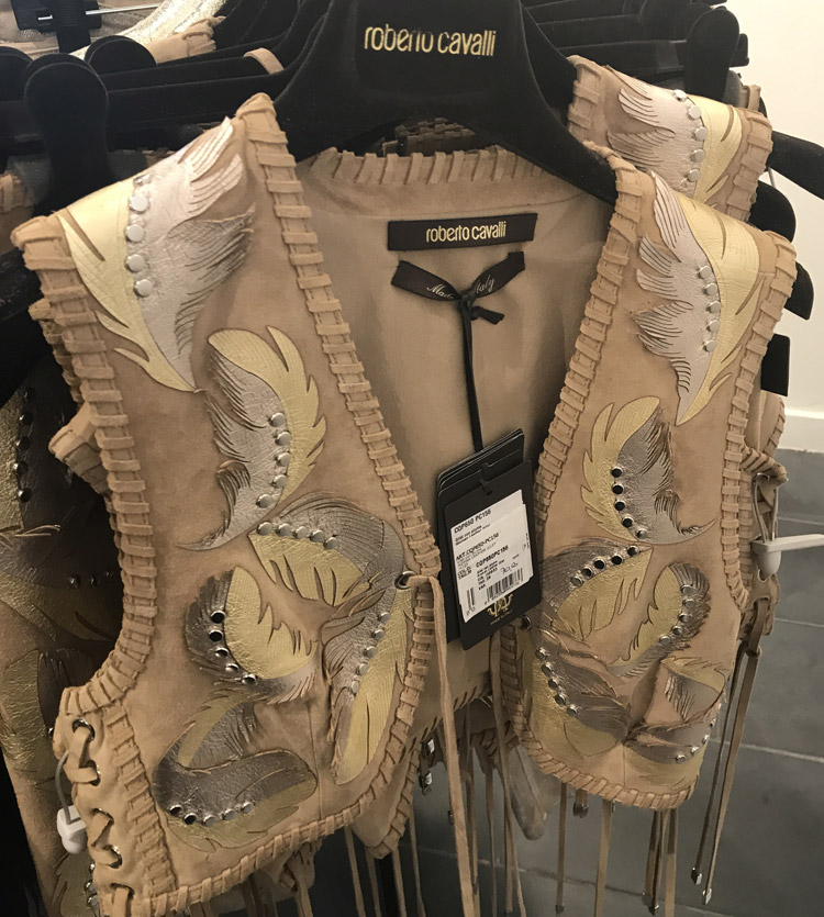 Roberto Cavalli Sample Sale Review