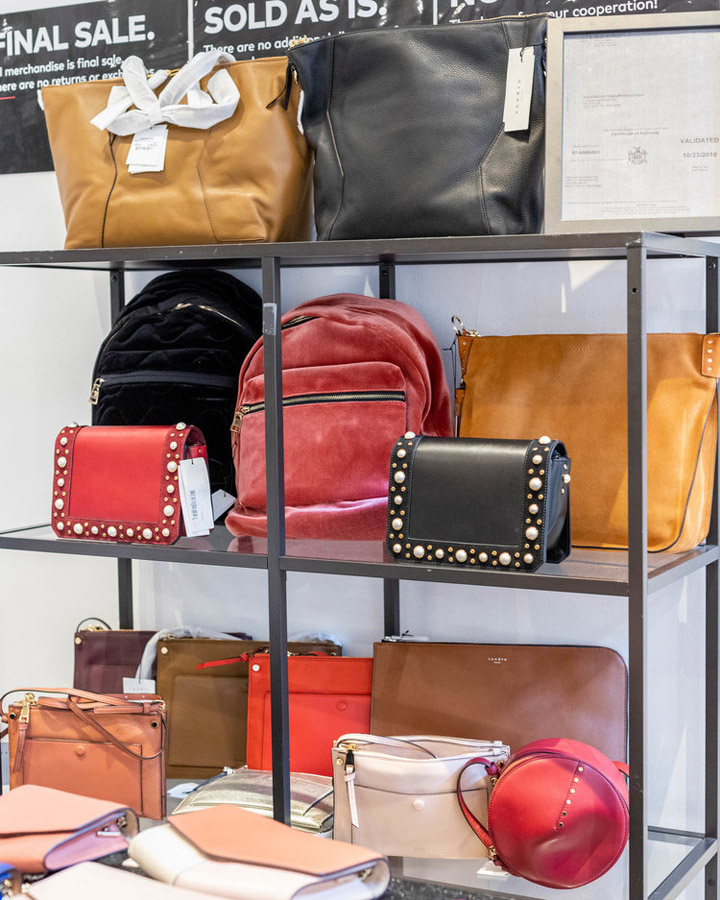 Sandro Sample Sale Review Accessories