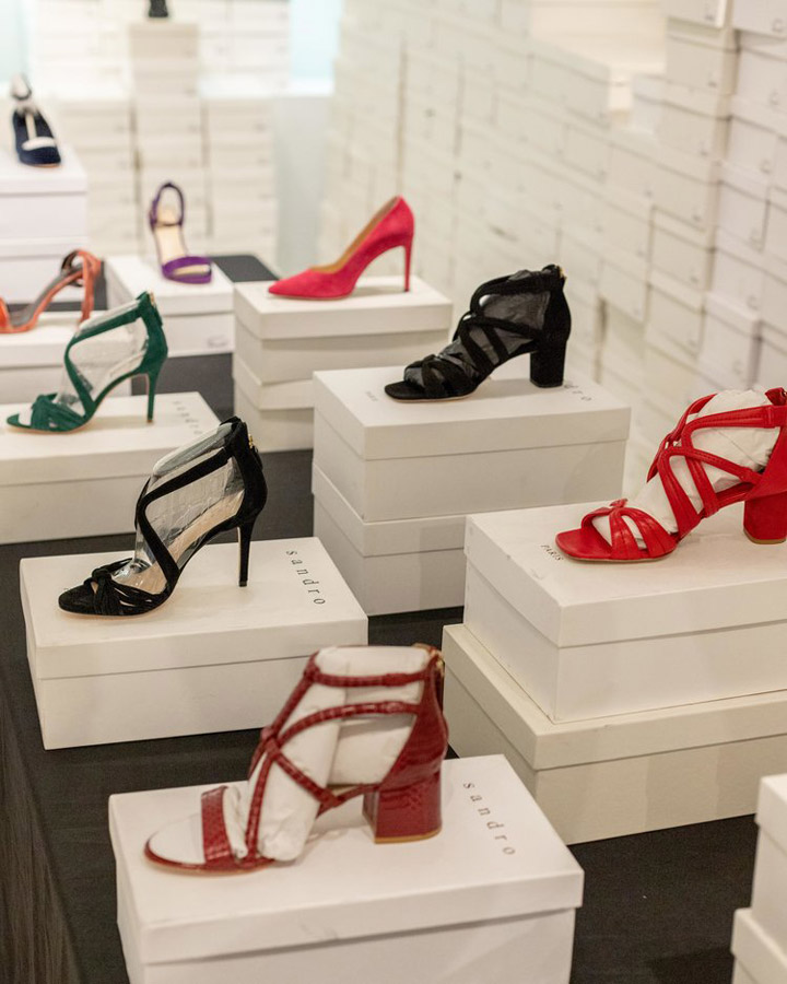 1d2739e801a Sandro Sample Sale Review Footwear