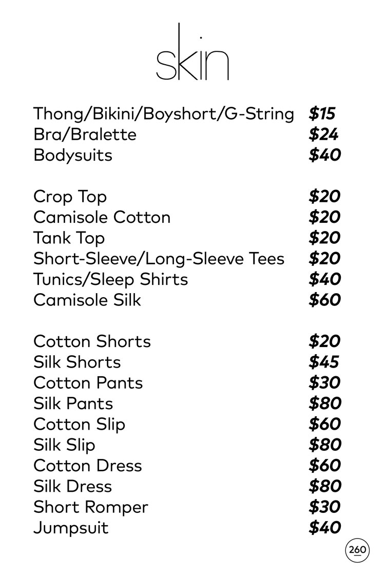 skin Sample Sale in Images Price List