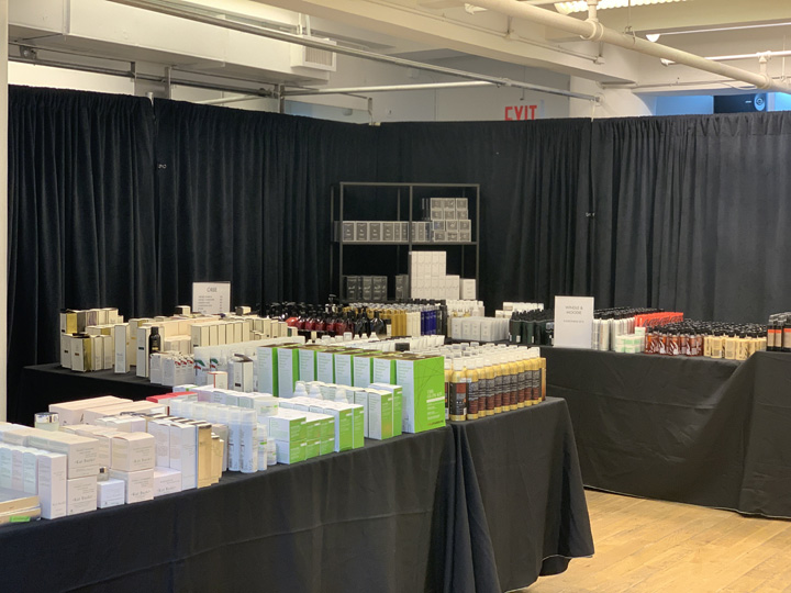 Space NK Apothecary London Warehouse Sale In Images