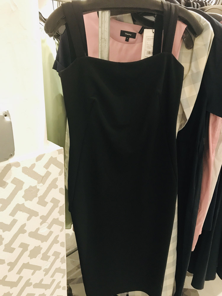 Theory Sample Sale Review Dress