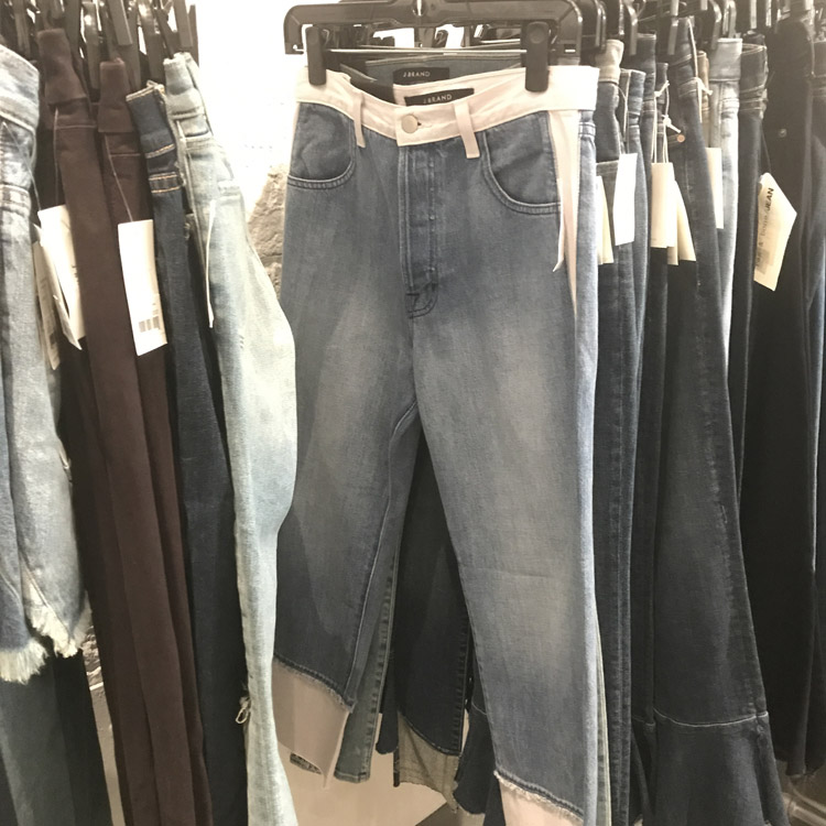 Theory Sample Sale Review Denim