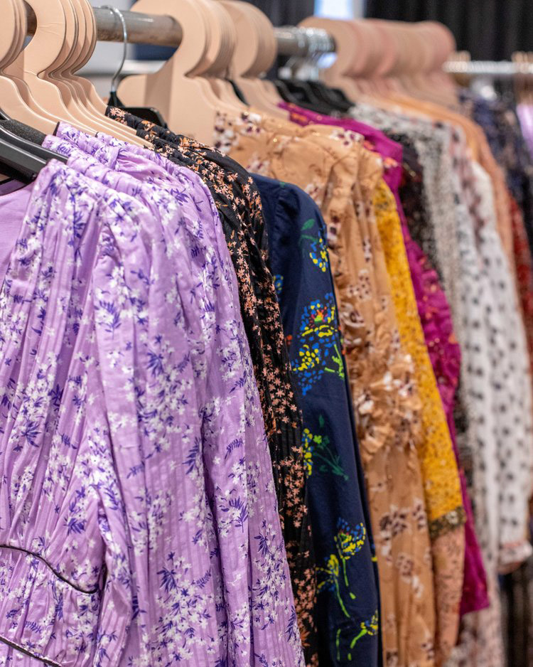 Pics from Inside the Ulla Johnson Sample Sale