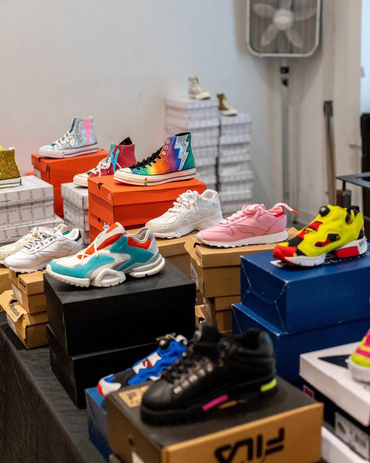 VFILES Sample Sale in Images Footwear