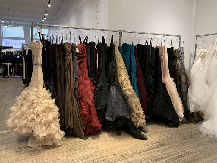 Vera Wang Sample Sale in Images