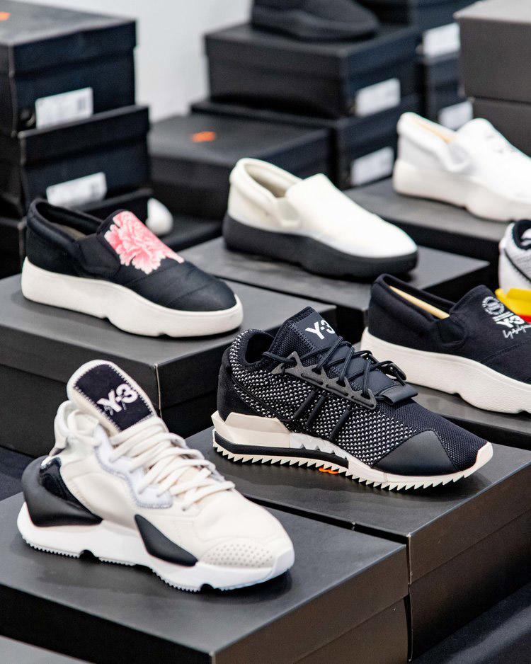 Y-3 Adidas Sample Sale in Images