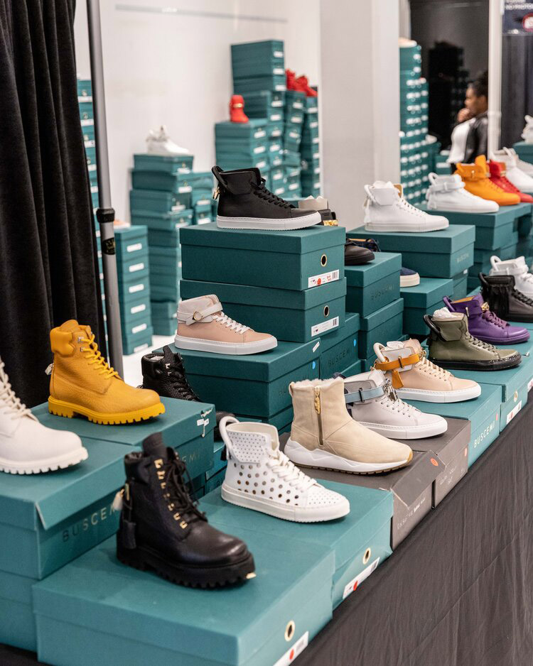 Buscemi Sample Sale in Images
