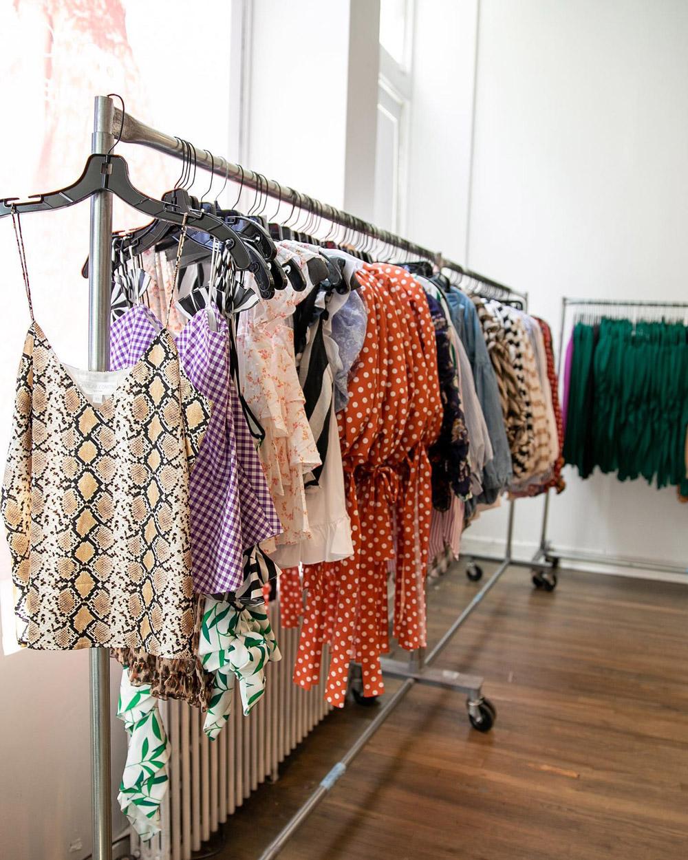Caroline Constas Sample Sale in Images