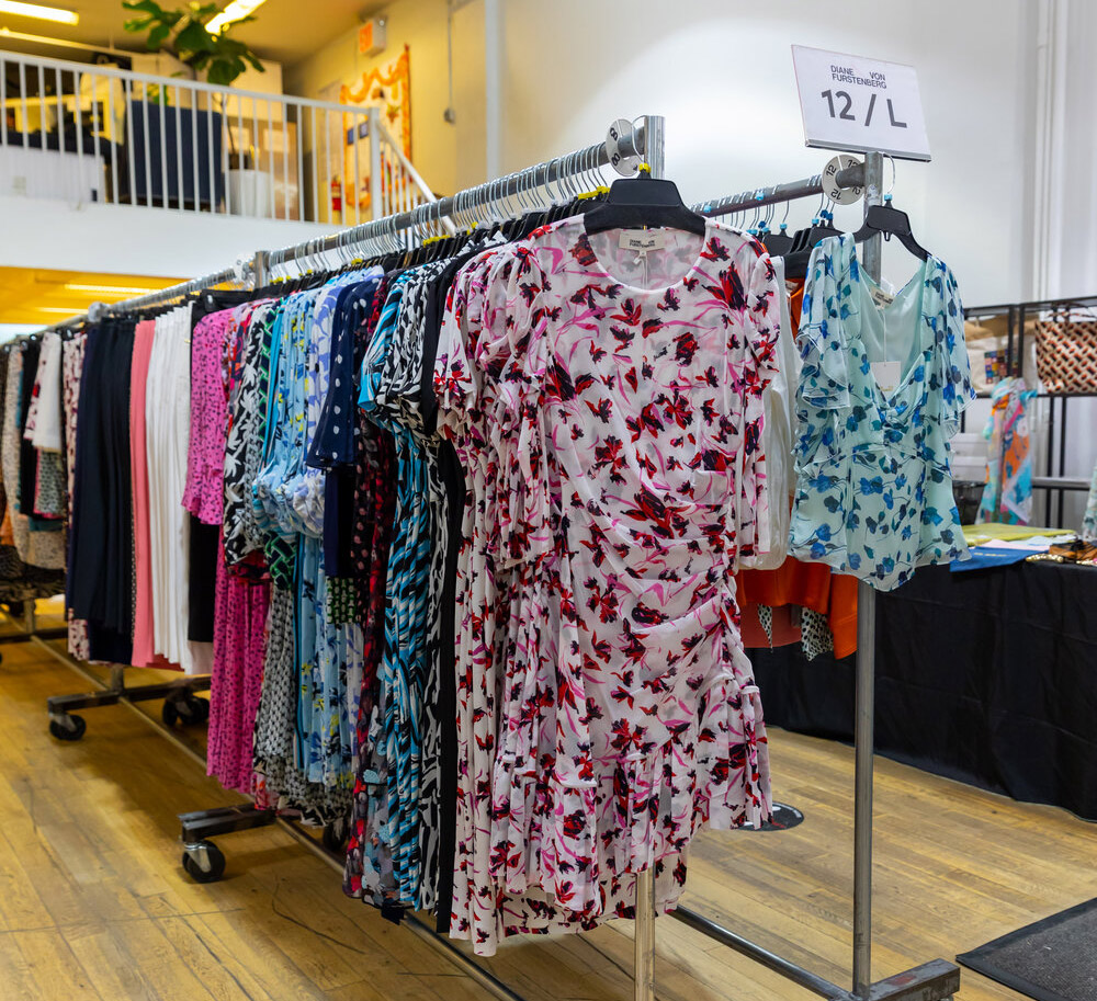 Diane von Furstenberg Sample Sale in Images