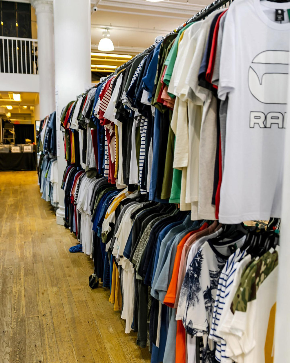 Pics from Inside the G-Star RAW Sample Sale