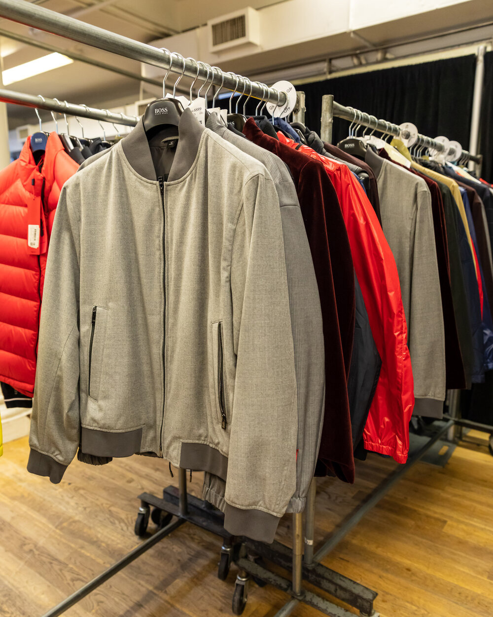Hugo Boss Sample Sale in Images