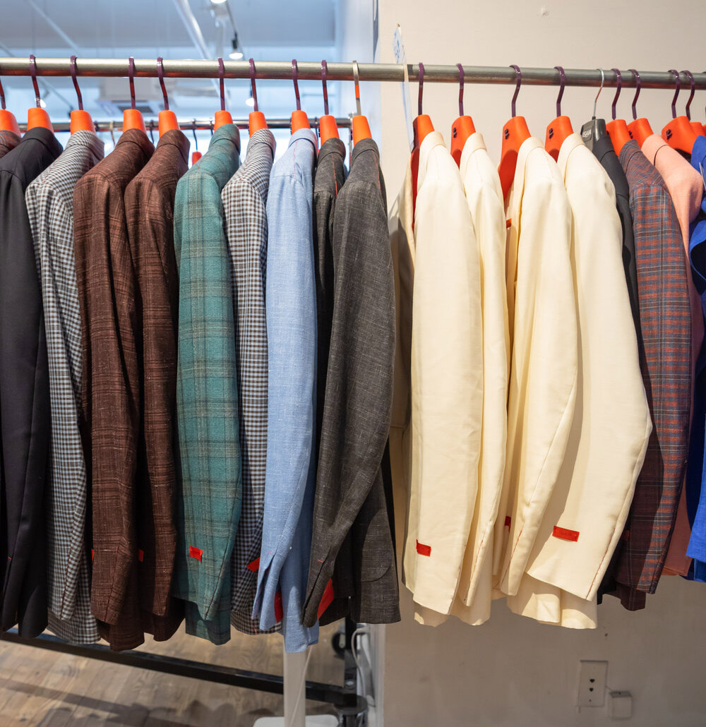Isaia & Eidos Sample Sale in Images
