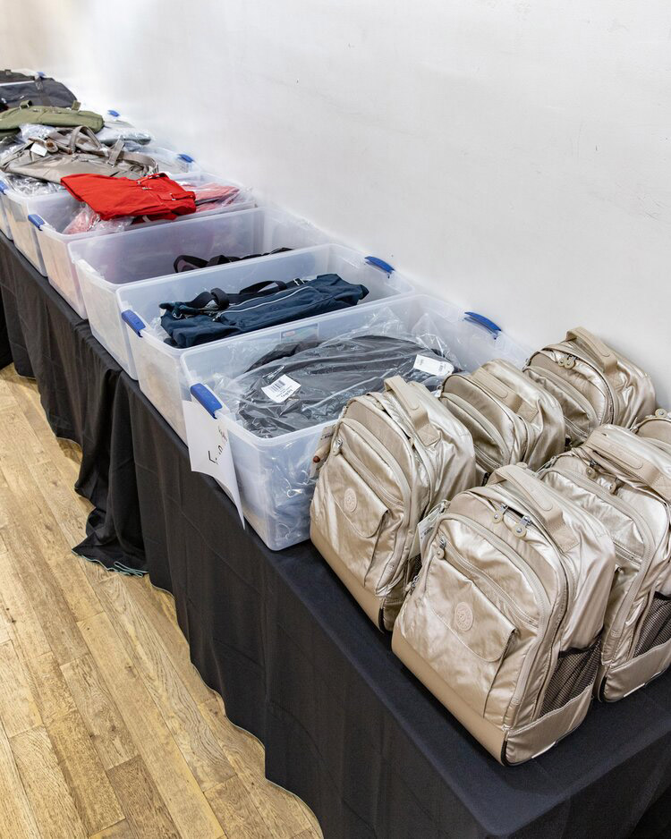 Kipling Pop-Up Sample Sale in Images