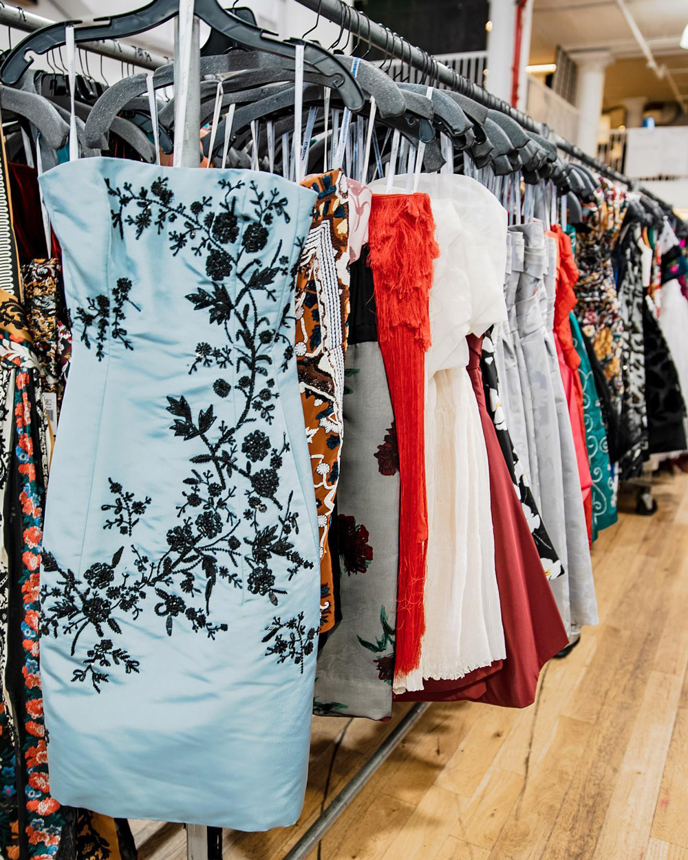 Oscar de la Renta Sample Sale in Images