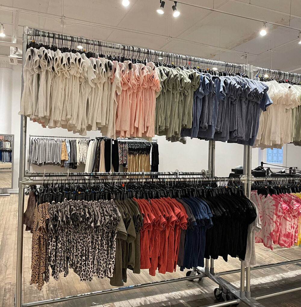 10 Crosby + ATM Sample Sale in Images