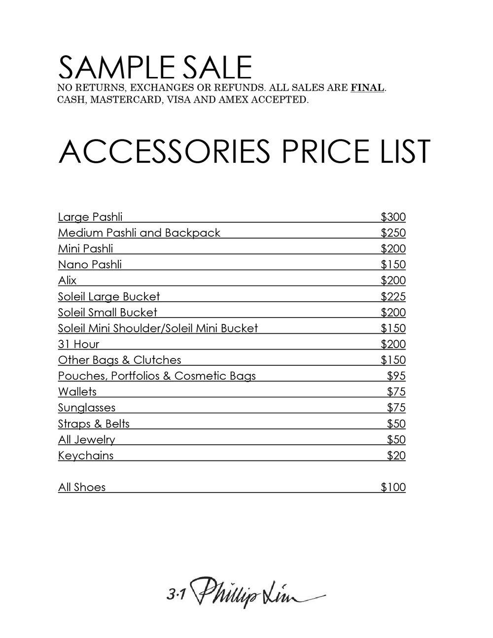 3.1 Phillip Lim Sample Sale in Images