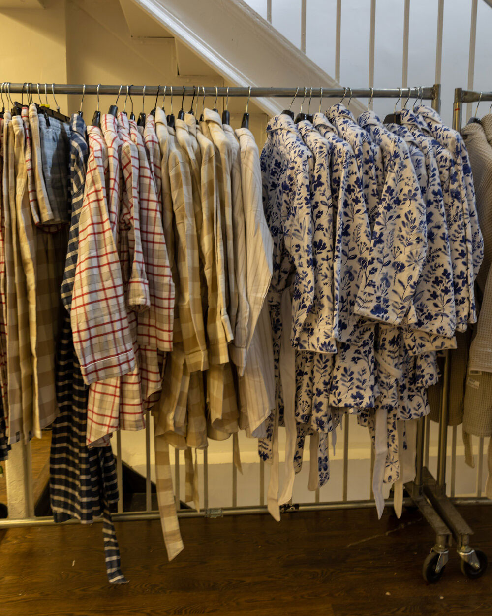 Boll & Branch Sample Sale in Images