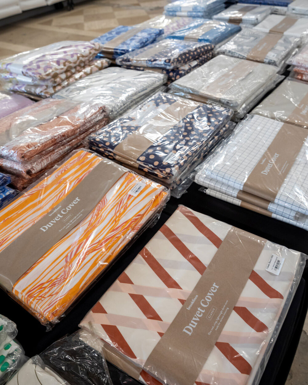 Brooklinen Sample Sale in Images