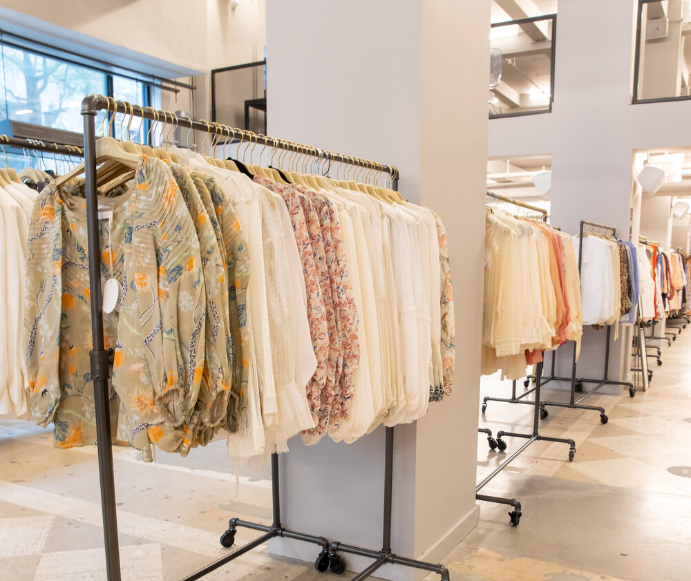 Pics from Inside the Chloe Sample Sale