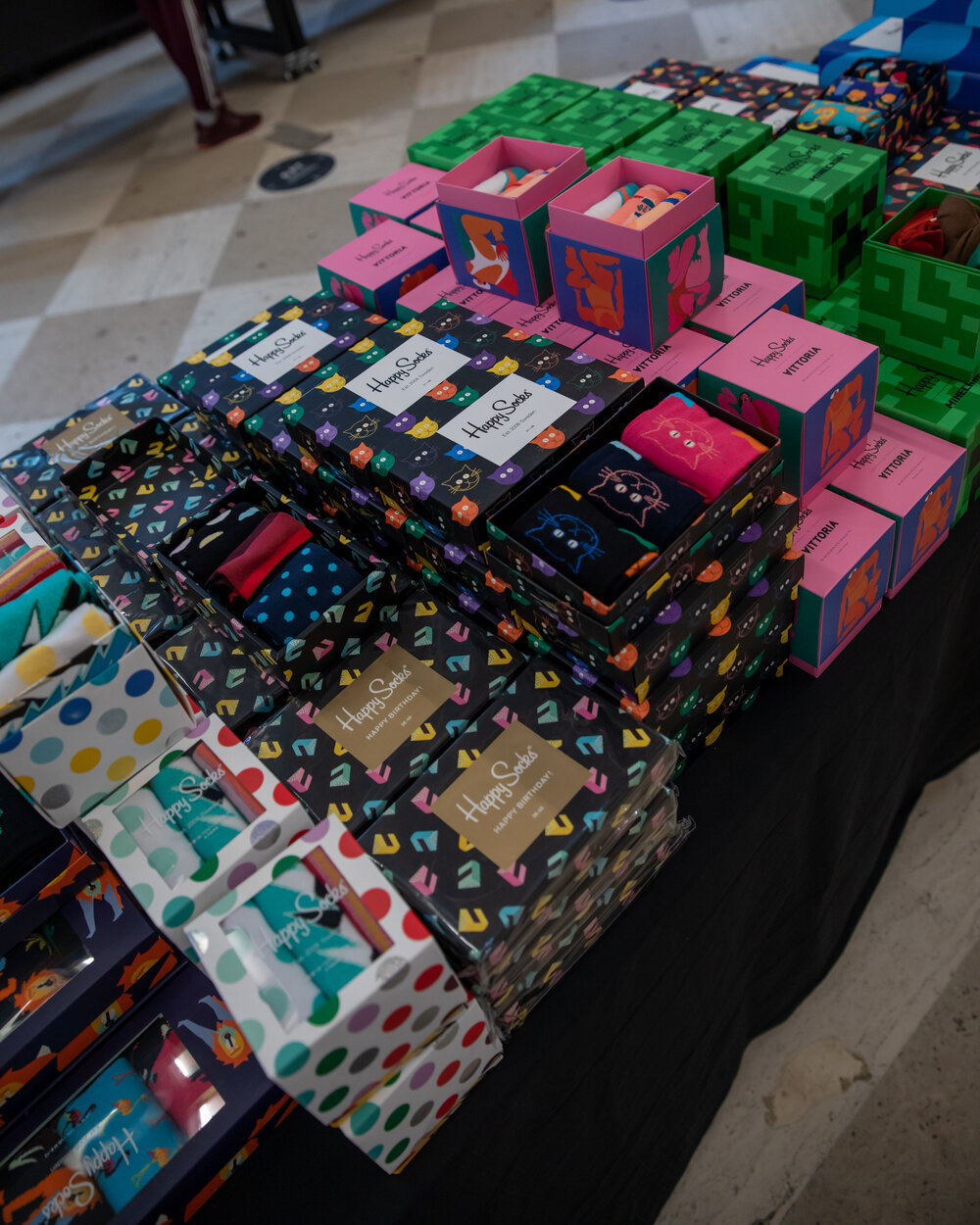 Happy Socks Sample Sale in Images