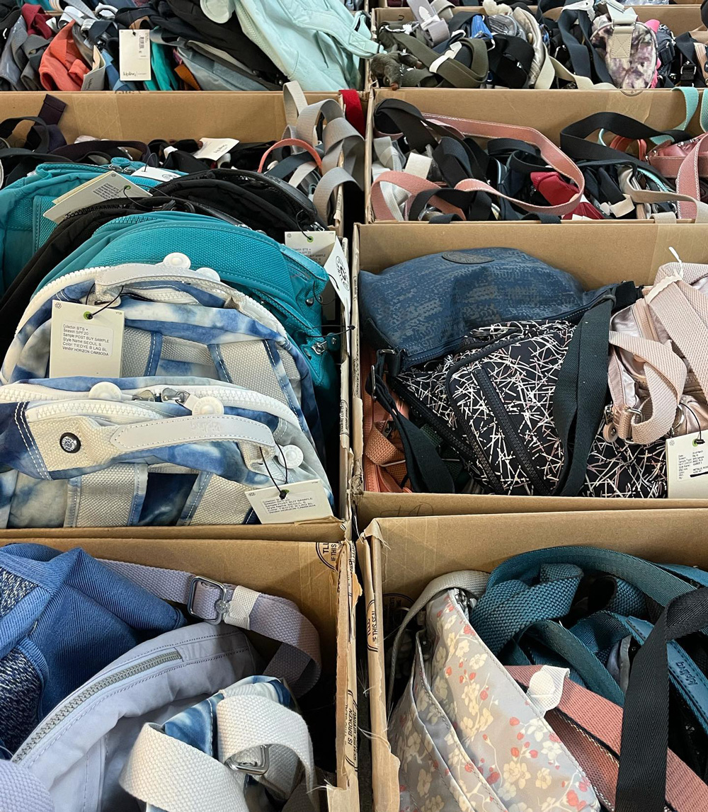 Kipling Sample Sale In Images