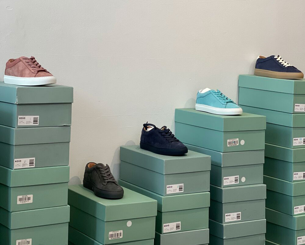 Koio Sample Sale in Images