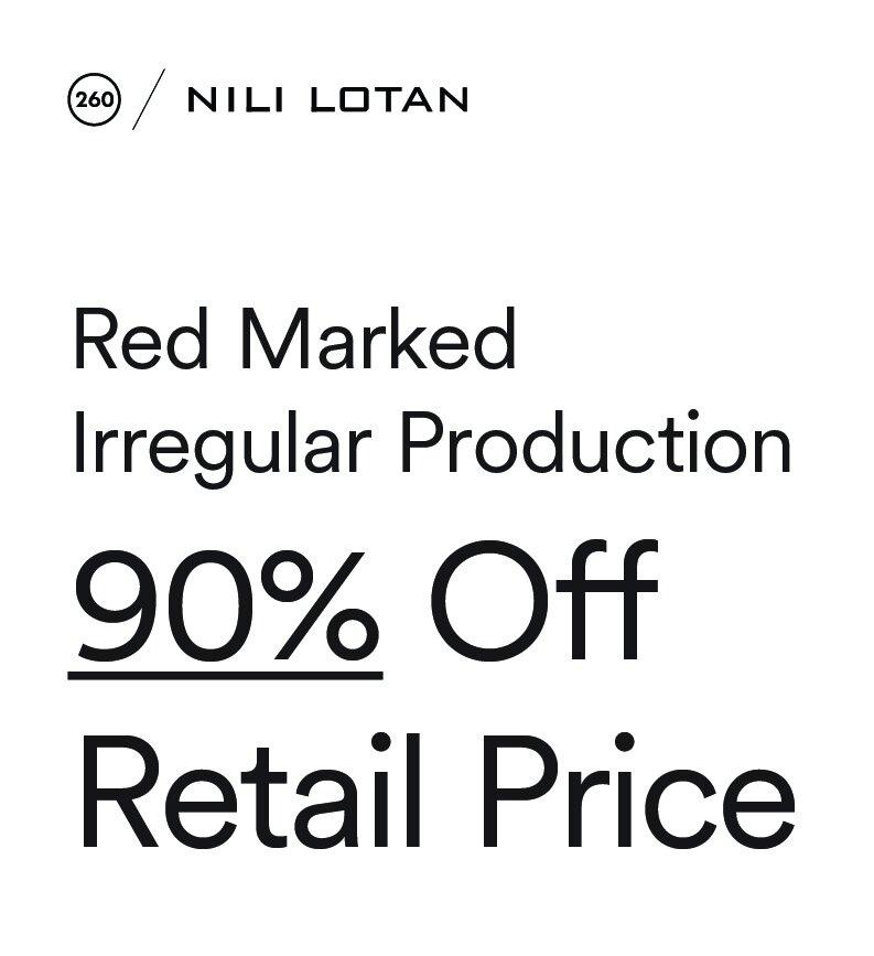 Nili Lotan Sample Sale in Images