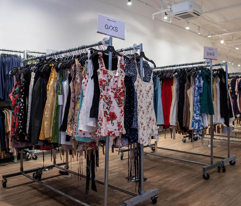Reformation Sample Sale in Images
