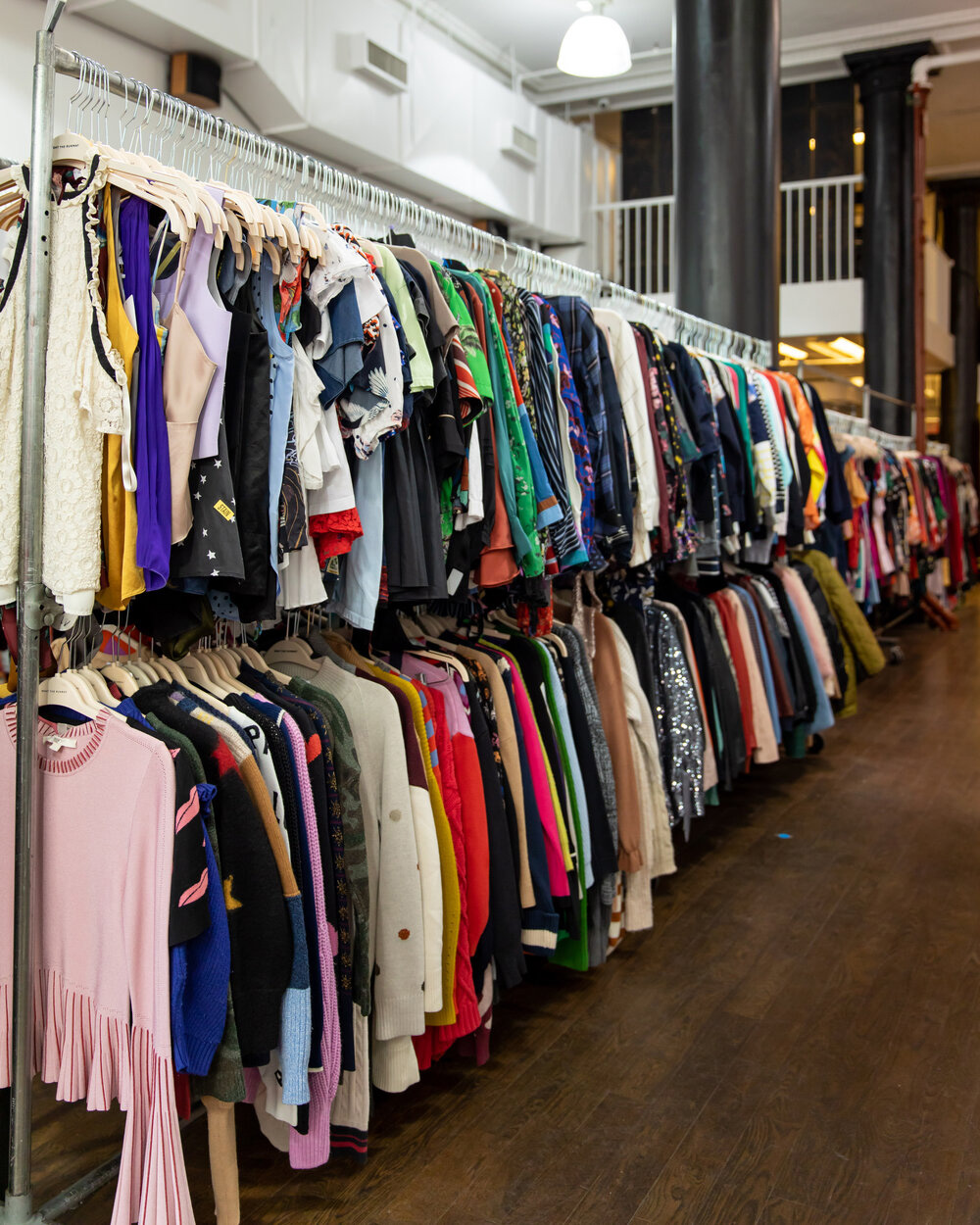 Rent the Runway Sample Sale in Images